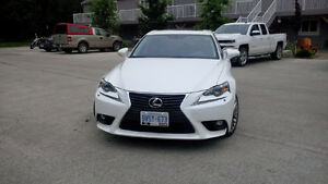 2015 Lexus IS 250 Black Leather Sedan
