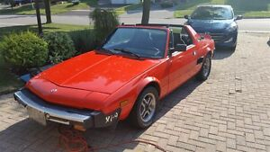 Certified,1980 Fiat x1/9 2dr Targa Roof