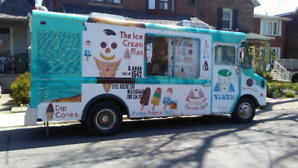 ice cream truck for sale. turn key ready operation. 647 739 6460