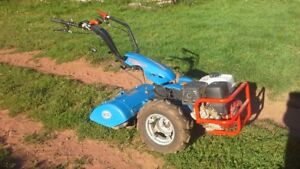 BCS Professional 732 GX11 Walk behind tractor and tiller