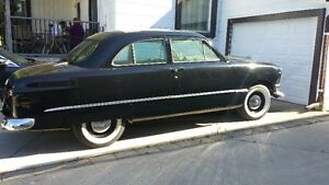 1950  2 door ford sedan