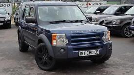 2005 LAND ROVER DISCOVERY 3 TDV6 HSE LOVELY LOW MILEAGE FSH RARE MANUAL ES
