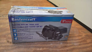 "SOLD PENDING PICKUP -- Mastercraft 5"" Bench Vise BNIB"