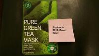 [SHEET MASK] TOSOWOONG Pure Green Tea Mask