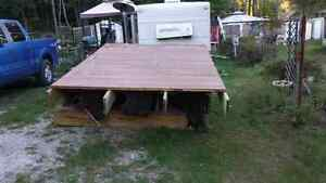 Deck or dock for sales