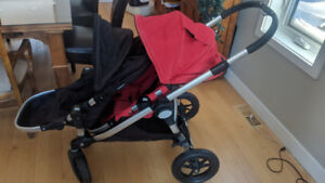 City select baby jogger double