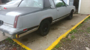 1984 OLDS CUTLASS SUPREME--60000 ORIG KMS V6