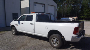 2011 Dodge Ram 2500 With Boss Snow Plow