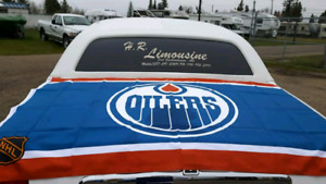 Limo to the oilers