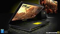 Brand New Alienware Gaming Laptop i7 4 gig graphics SSD 16g ram