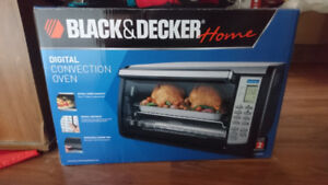 Counter top digital convection oven
