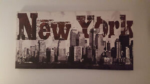 New York Canvas Picture