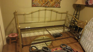 GOLD TWIN DAYBED FRAME