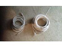 2 x LONG Cat 5.e ETHERNET CABLES