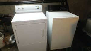 Washer & Electric Dryer....SOLD ....Thank You.....