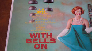 LP: Sid Bass & His Orchestra, With Bells On Kitchener / Waterloo Kitchener Area image 2