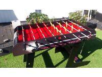 Fold away football table