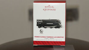Hallmark 2014 Keepsake Ornament ~ Pennsylvania Torpedo Locomotiv