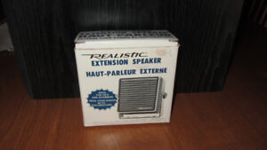 Realistic 21-549 Extension Speaker for CB's And Amateur Radios