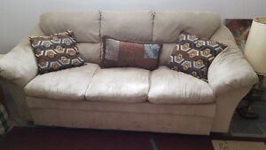 Barely used three seat couch