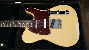 Fender Telecaster and Line 6 Amplifier