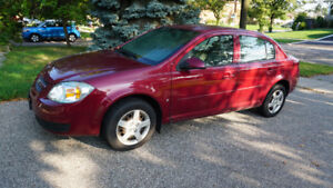 2007 CHEVY COBALT LOW KILOMETRES MANUAL