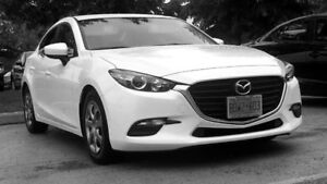 2017 Mazda3 Sedan very low kms