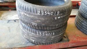Pair of 2 Michelin Pilot Sport 3 235/40R18 tires (65% tread life