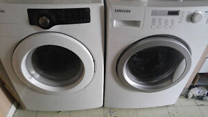 Front load washer ans dryer