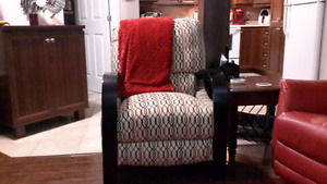 Fauteuil inclinable et table