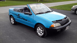 1991 Chevrolet Sprint SL Convertible