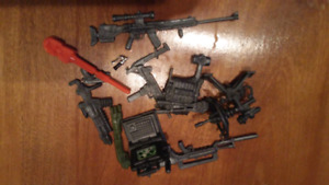 Toy Weapons for Action Figures