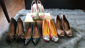 Various heels and sizes