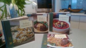 4 williams sonoma cookbooks