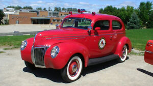 1939 Ford Fire Chief's Car!