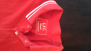 70s Liverpool FC polo shirt (genuine anfield)