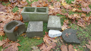 Concrete Block for Garden or Retaining Walls