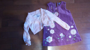 Girls lot size 4T