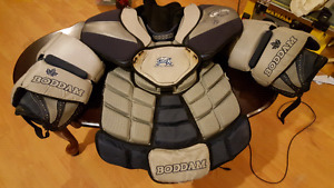 Boddam Box Lacrosse Goalie Upper