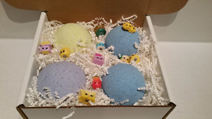 Shopkin surprise bathbombs