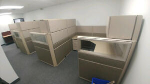 Workstations- Cubicles- Call Centers- Desks- Chairs- Tables