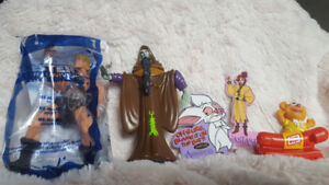Vintage Happy Meal, Burger King, Taco Bell Toys 3