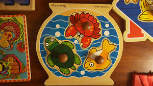 Selection of wooden puzzles