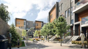 New townhomes in South Etobicoke - 1 to 3 Bdr - 1st access!