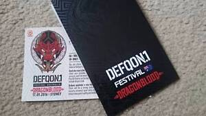 Defqon.1 Festival Hard Copy Tickets Coffs Harbour Coffs Harbour City Preview