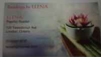 PSYCHIC READINGS BY ELENA