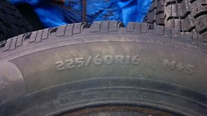 4 225/60r16 winter tires