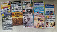 Photography & Photoshop magazines/books for sale - cheap + good!