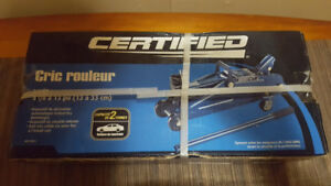 Cric  roulant hydraulique Certified, 2 tonnes