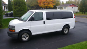 chevrolet express 2007  12 passagers